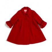 赤:ハリウッドスターのご用達のコートです