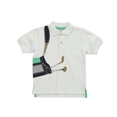 ゴルフバッグ刺繍ポロシャツ