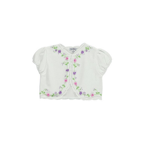 花刺繍ボレロ