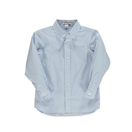 チェックボタンダウンシャツ