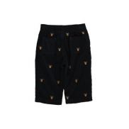 Baby Boy Embroidered Corduroy Pant