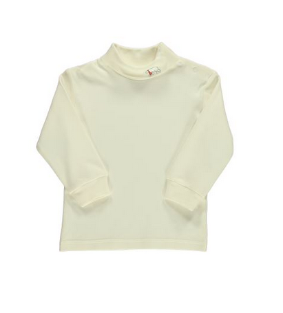 Infant Cotton Knit Turtleneck
