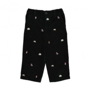 Infant Embroidered Corduroy Pant