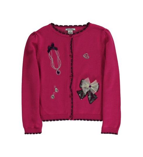 Embellished Cotton Cardigan